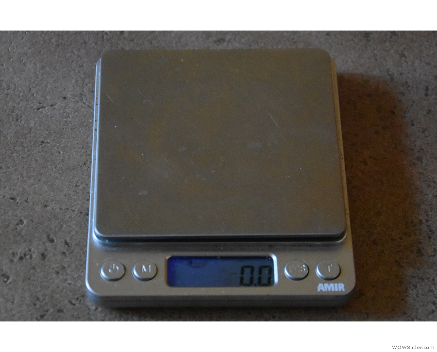 However, for the same price, you can get scales like these, which measure to 0.1 gram.