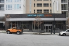 The Dancing Goats Coffee Bar, Midtown Atlanta, as seen from across the street.