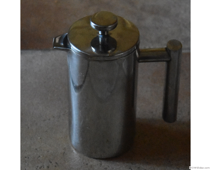Each day starts with a cafetiere. I use at this home, but have no photos of me using it...