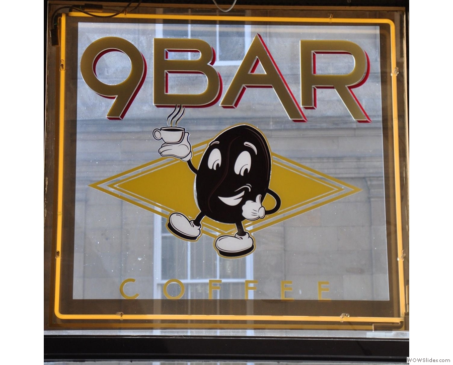 Newcastle's 9Bar Coffee, without whom this Award would not exist