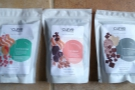 A recent delivery from Curve Coffee Roasters. Note that they are all single-origins.