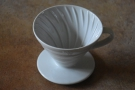 There are three basic types of pour-over filter. The first is conical, an example of which...