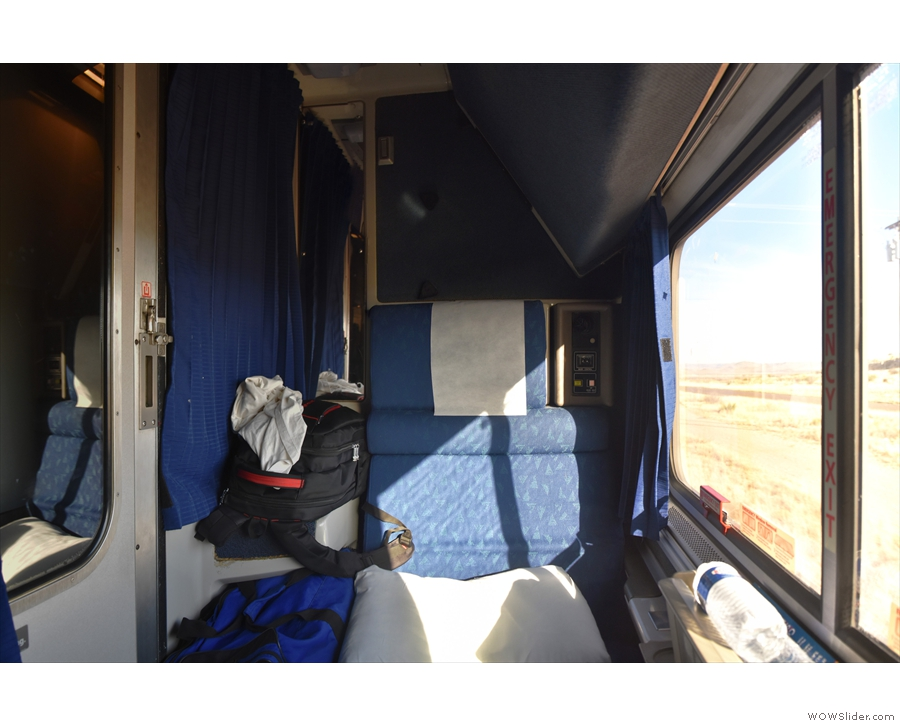 A different Superliner (from my journey to Tucson the year before) showing its full width.