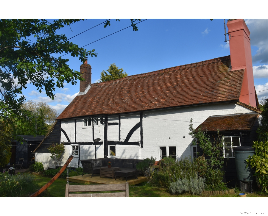 A National Trust cottage in the heart of the Surrey Hills seems an unlikely place for a...