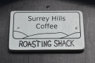 It's the Surrey Hill Coffee Roastery, affectionately as the Roasting Shack.