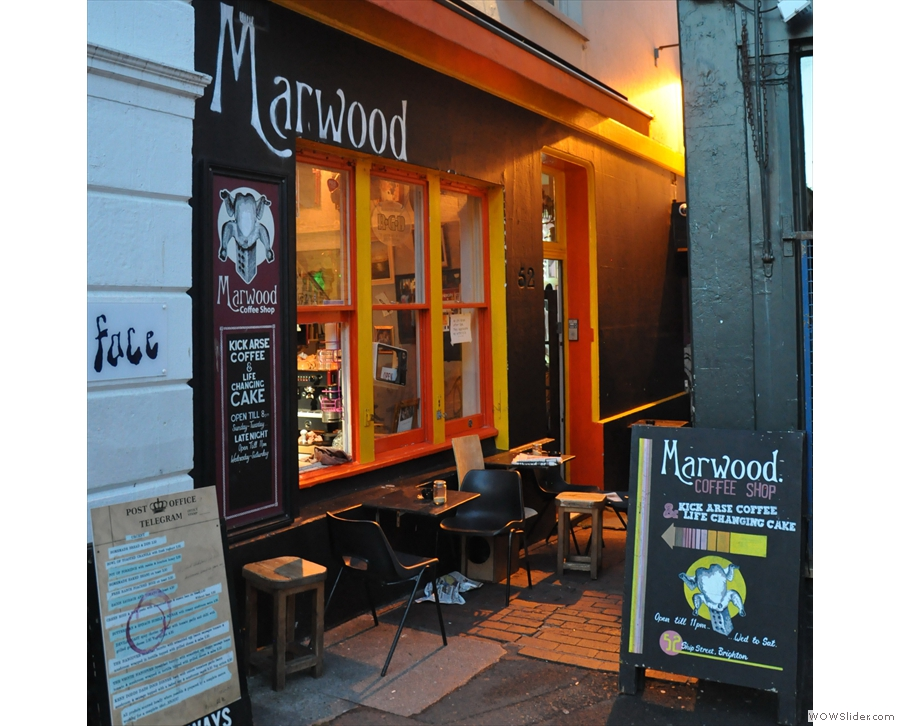 The Marwood, off the wall and wonderful