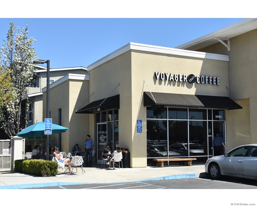 After that, I moved to San Jose, visiting Voyager Craft Coffee in nearby Santa Clara...
