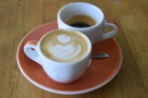 ... where I had more well-balanced coffee, this time at Chromatic Coffee.