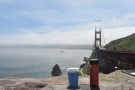 Amanda joined me at the end of the week. We drove over the Golden Gate Bridge...