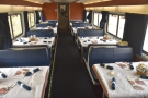... which brings us to the dining car. Carrying on, we reach...