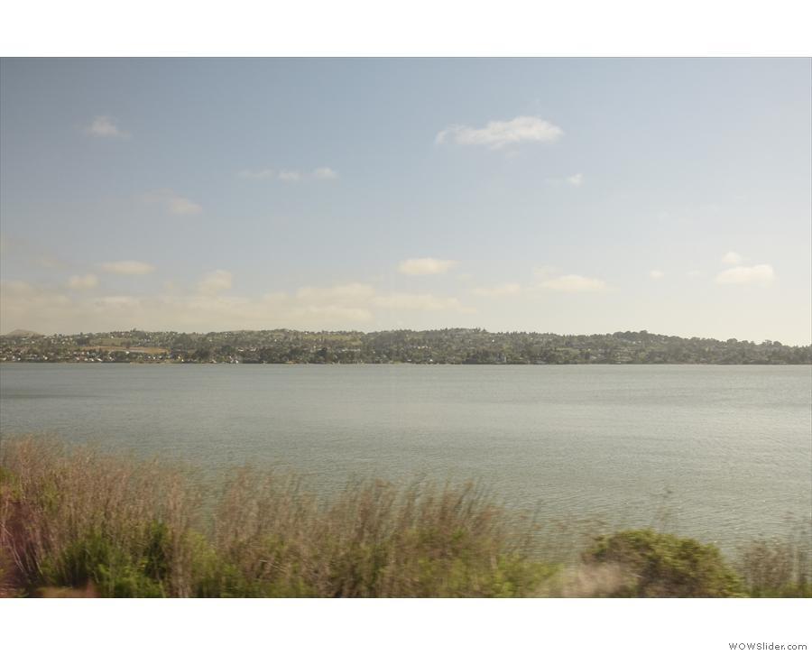 More pretty views across the strait.