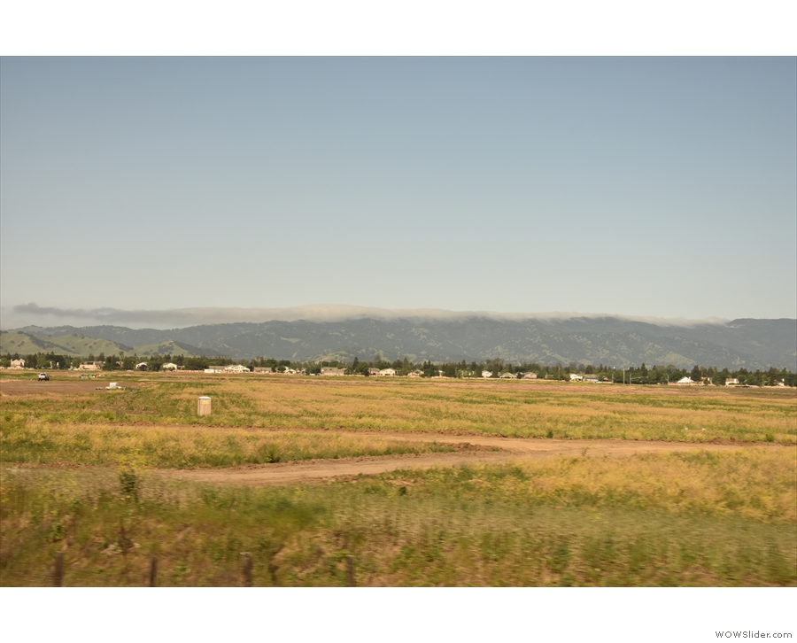 ... to set off across the Central Valley.
