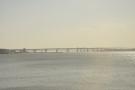 Up ahead is the Benicia-Martinez Bridge across the strait. That one has three spans.
