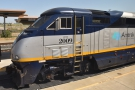 There's another Amtrak California service on another platform.