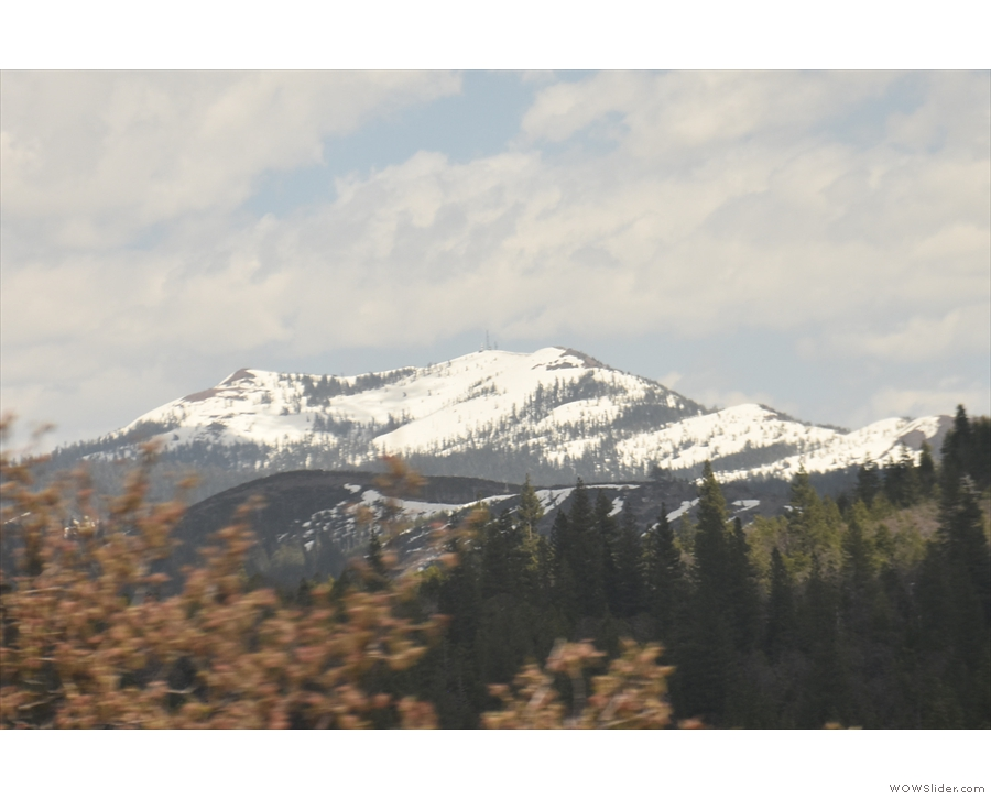 There's always something majestic about snow-capped mountains.