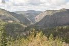 By now the train has reached Emigrant Gap and is running along near the top of a ridge...
