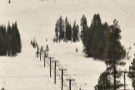 ... as we pass the Soda Springs Ski Resort at an elevation of 2,100 m.
