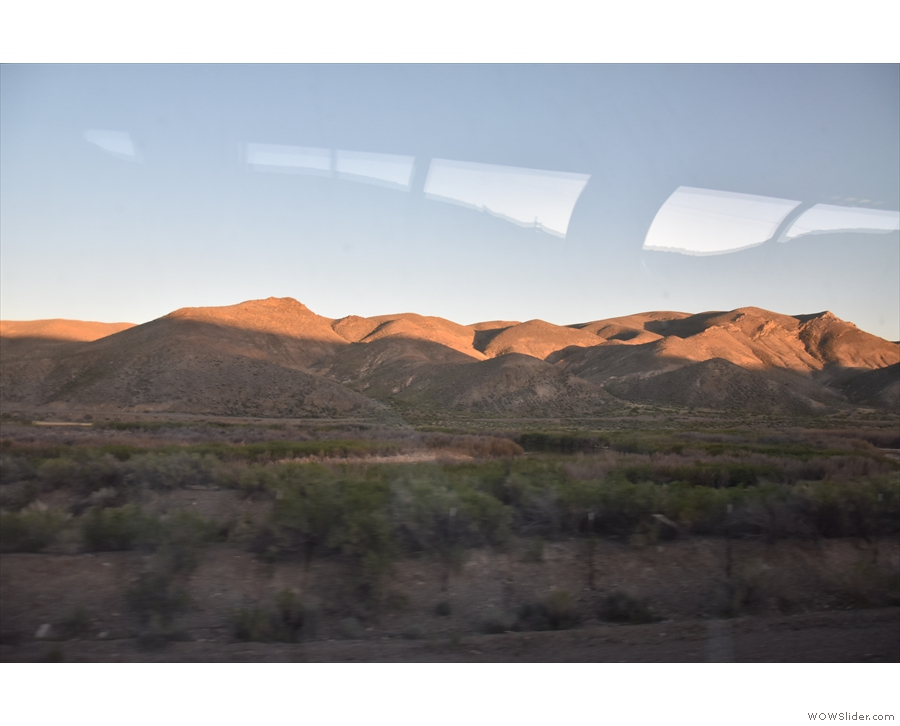 I love the evening light on the hills on the northeastern side of the valley...