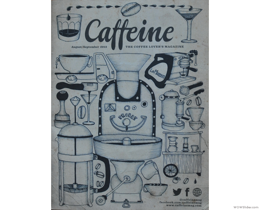 Caffeine Magazine, the only non-Coffee Spot in the top 10.