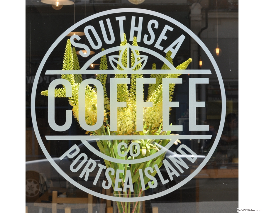 Southsea Coffee Co, flying the flag for the south of England.