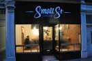 Small St Espresso, leading the way and one of three Bristol entries.