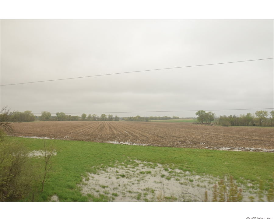 It's not just the Missouri that's flooded. This is the result of the Des Moines River, which...