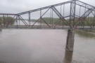We cross the Platte and Missouri Rivers in quick succession. This is the Missouri crossing...
