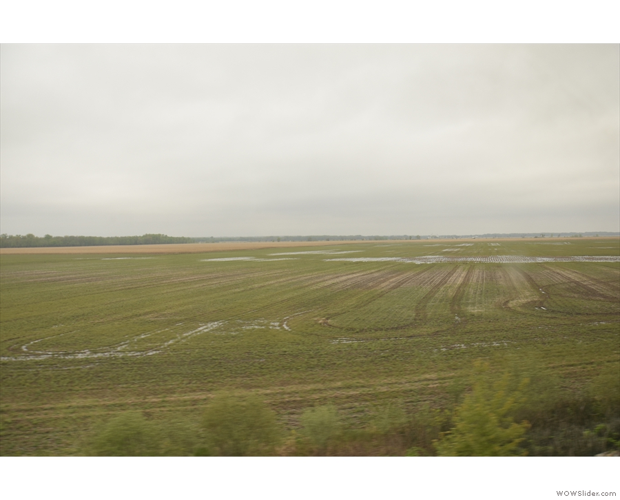 I'm guessing that at one point, these fields had been underwater too.