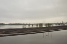 ... since a couple of weeks before, all of the marshalling yards had been underwater.
