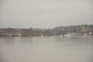Burlington was hit hard and is still partially flooded.