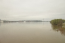 Here comes the eastern bank of the Mississippi...