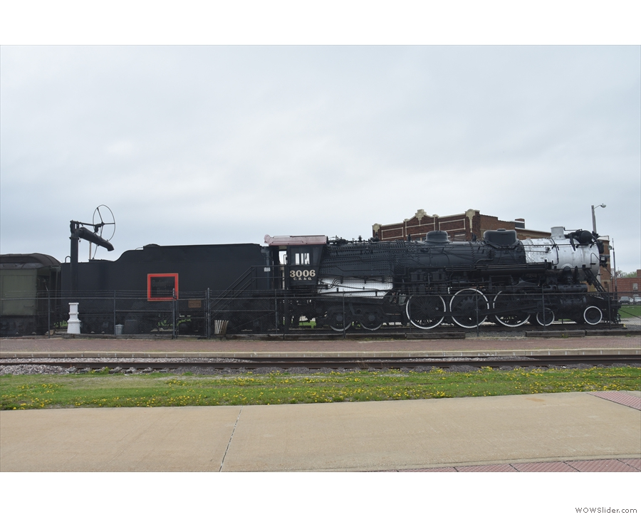 And finally, there's Locomotive 3006, a Hudson class S-4, 4-6-4 steam engine from 1930.