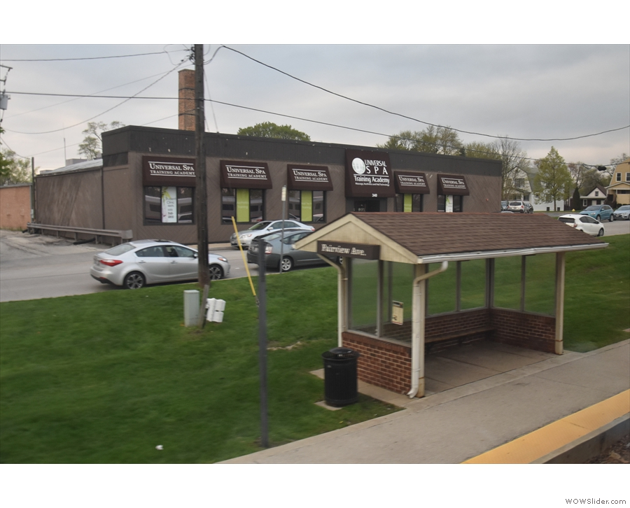 ... and here's another of them, Fairview Avenue. I've travelled on the BNSF line before...