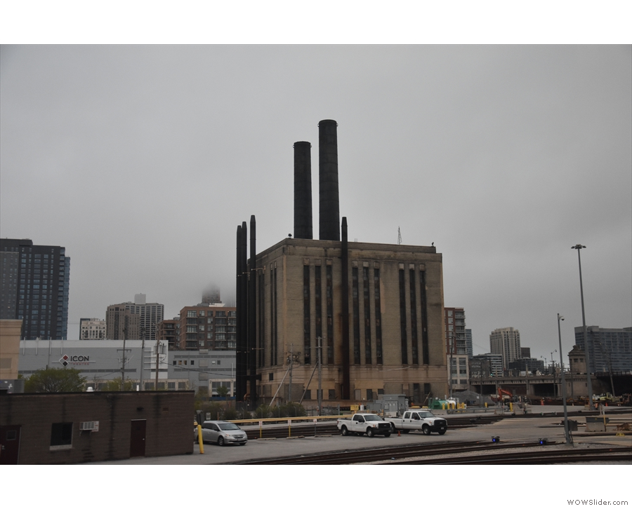 This is the Union Station Power House, which is at the end of the yards.