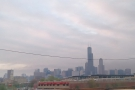 A wider view of the Chicago skyline. The Willis Tower really does dominate!