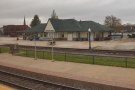 Finally, we reach Galesburg, which is another smoke stop, so I'm getting off to stretch...