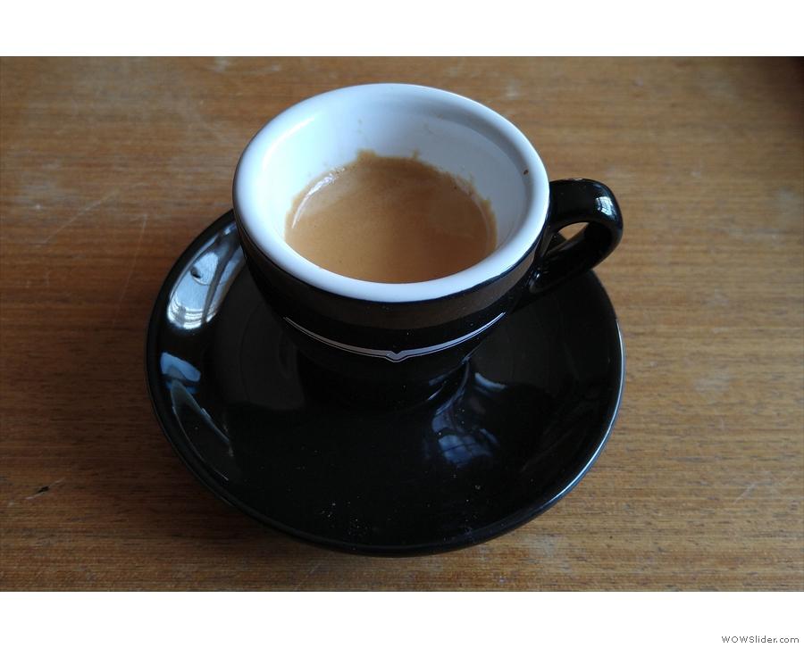 ... one of my many Daily Espressos using the San Lorenzo.