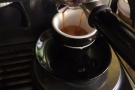 Here's my test espresso that I made on my Sage Barista Express...