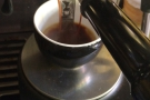 The following day, I decided, for the first time ever, to make an Americano at home.