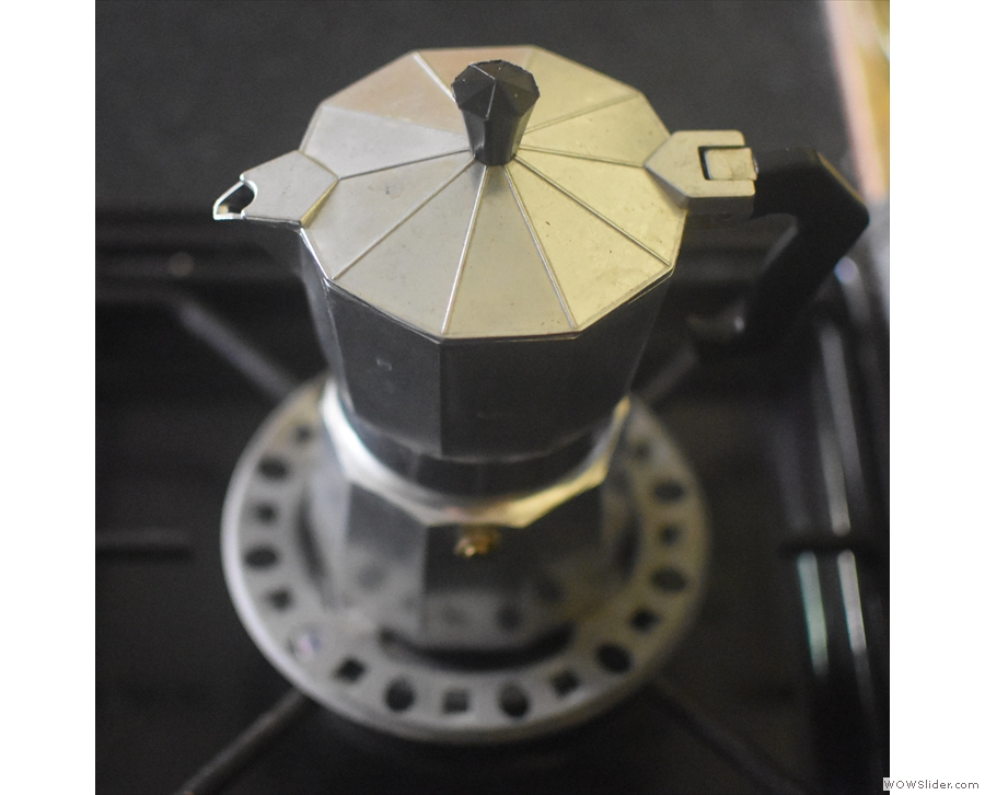 The moka pot is, unless you have an electric one, a stove-top device.