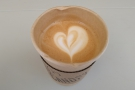 Some lovely latte art there from Jonathon.