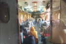 A (poor quality) picture of my carriage. It was very busy, so hard to take good photos.