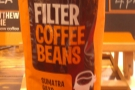 The other bean: Sumatra Gayo, the darker roast.
