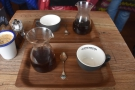 For me, filter coffee is best served in a carafe, with a cup on the side, as it was at...