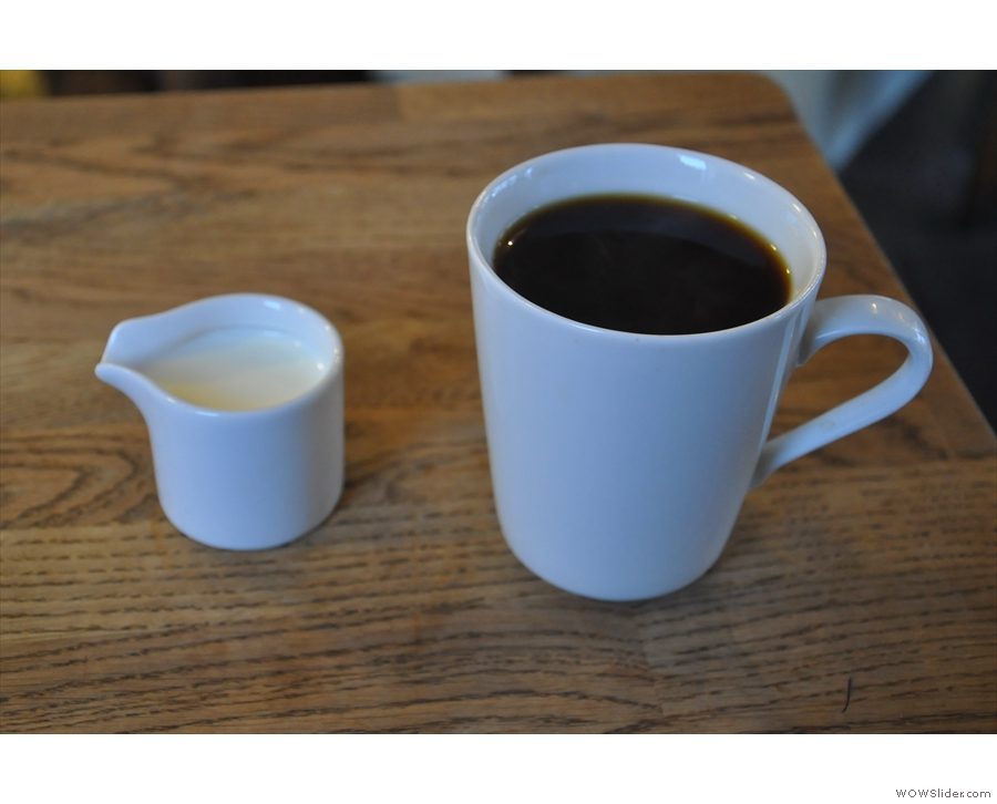 ... which way to line up the handle and the spout? The perils of the coffee blogger!