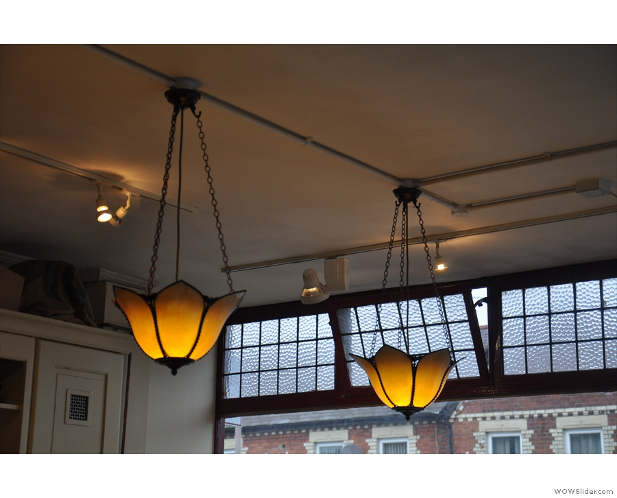 There was a lot I liked about Workhouse: the light-fittings, for instance.