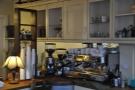 A closer look at the espresso machine.