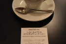 At Maruyama in Tokyo, it's on the menu as the espresso set, the same coffee , served...