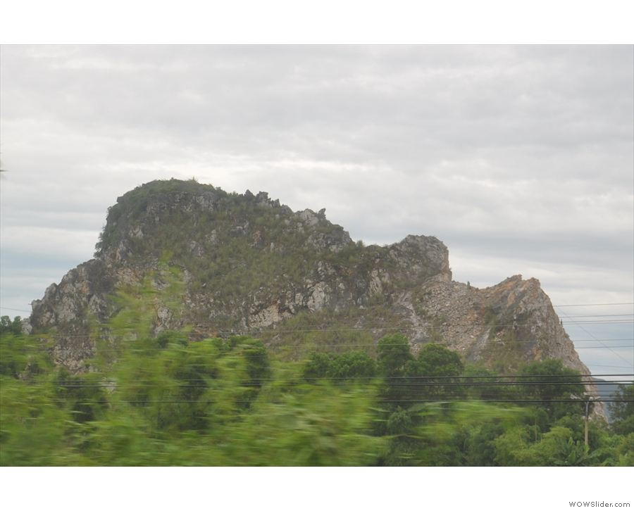 I also loved the craggy outcroppings of rock.
