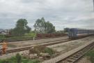 As is often the case, there are sidings alongside the station...